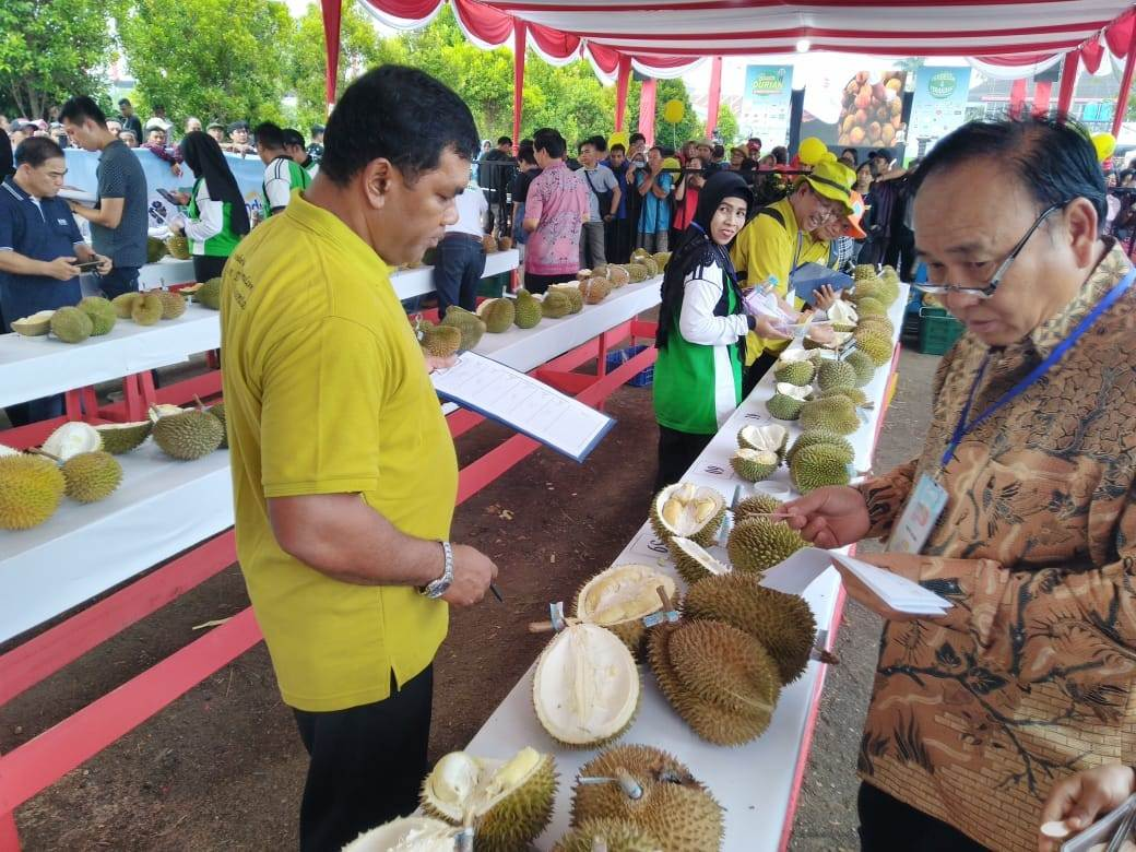 Gubernur Carikan Investor Durian