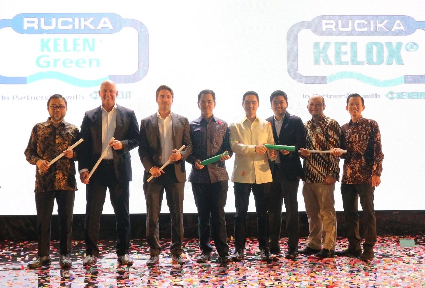 Peluncuran Produk Pipa Air Terbaru Rucika Kelen Green dan Rucika Kelox Hasil Inovasi Rucika dan Ke Kelit