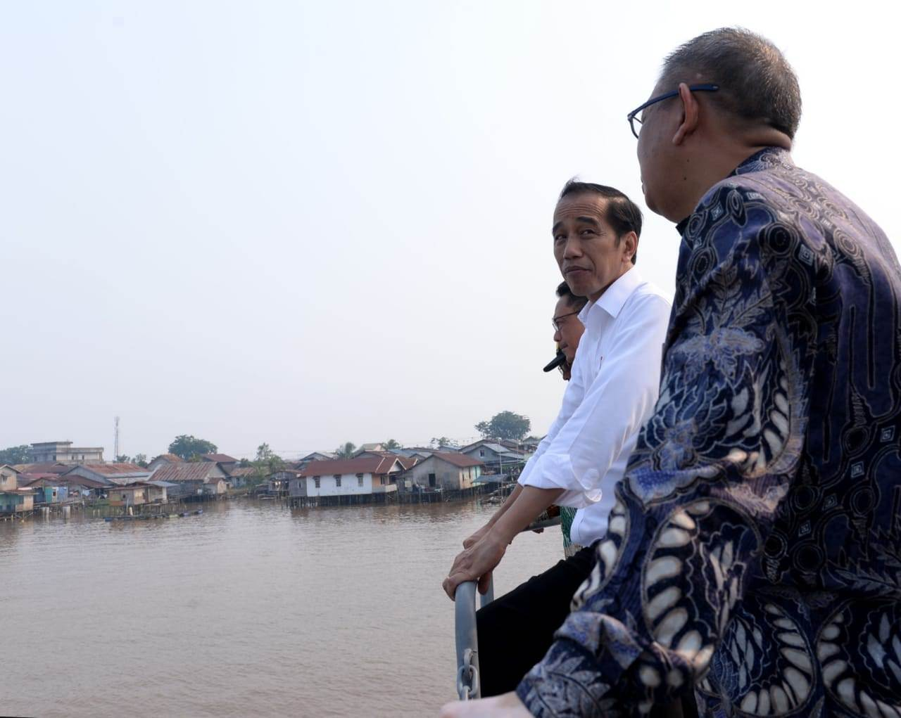 Jokowi Genjot Penataan Kapuas, Targetkan Selesai Tahun Depan