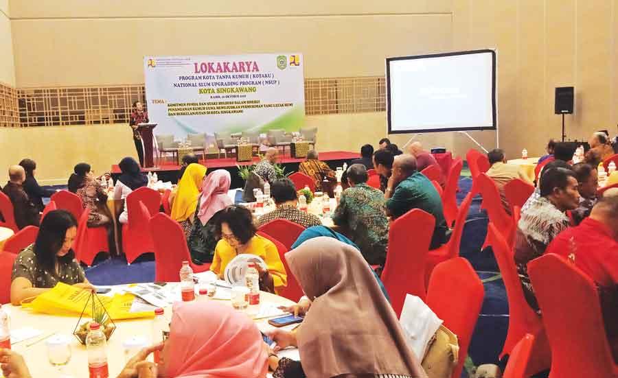 Perkimta Tata Kawasan Kumuh Kuala