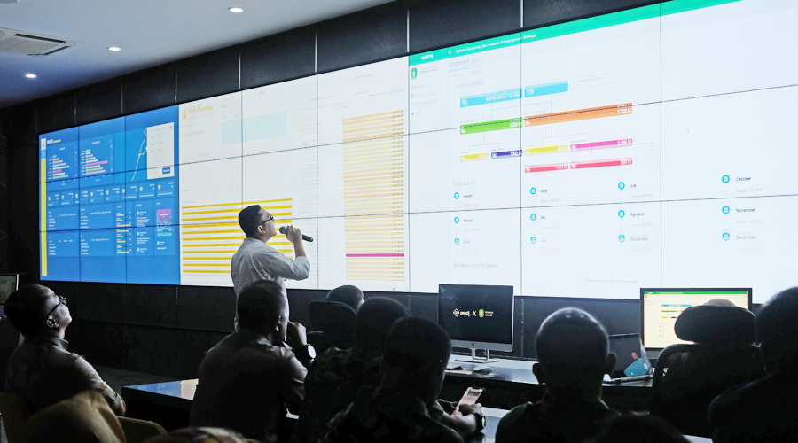 Gubernur Resmikan Data Analytic Room Kalbar