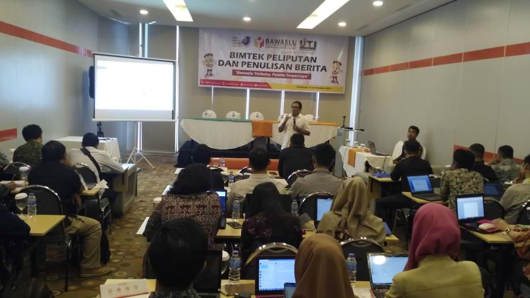 Bawaslu Gelar Pelatihan Jurnalistik