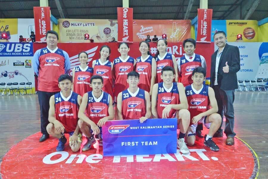 First Team Bersiap Ikuti DBL Camp