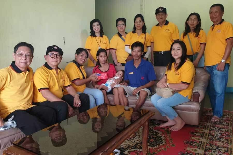 Bantuan Xing Fu untuk Keluarga Tak Mampu