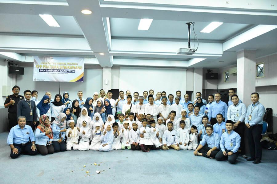 Penguatan Mental, KPP Singkawang Undang 30 Anak Yatim