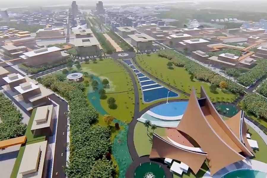 Sayembara Desain Ibu Kota Negara Diumumkan