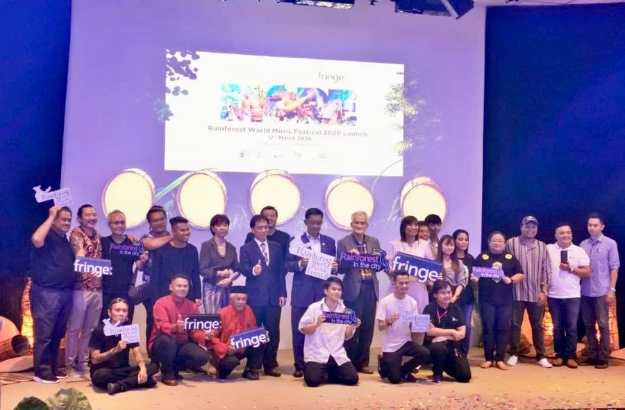 Resmi Dilaunching, Rainforest World Music Festival 2020 Lebih Dari sekedar Musik