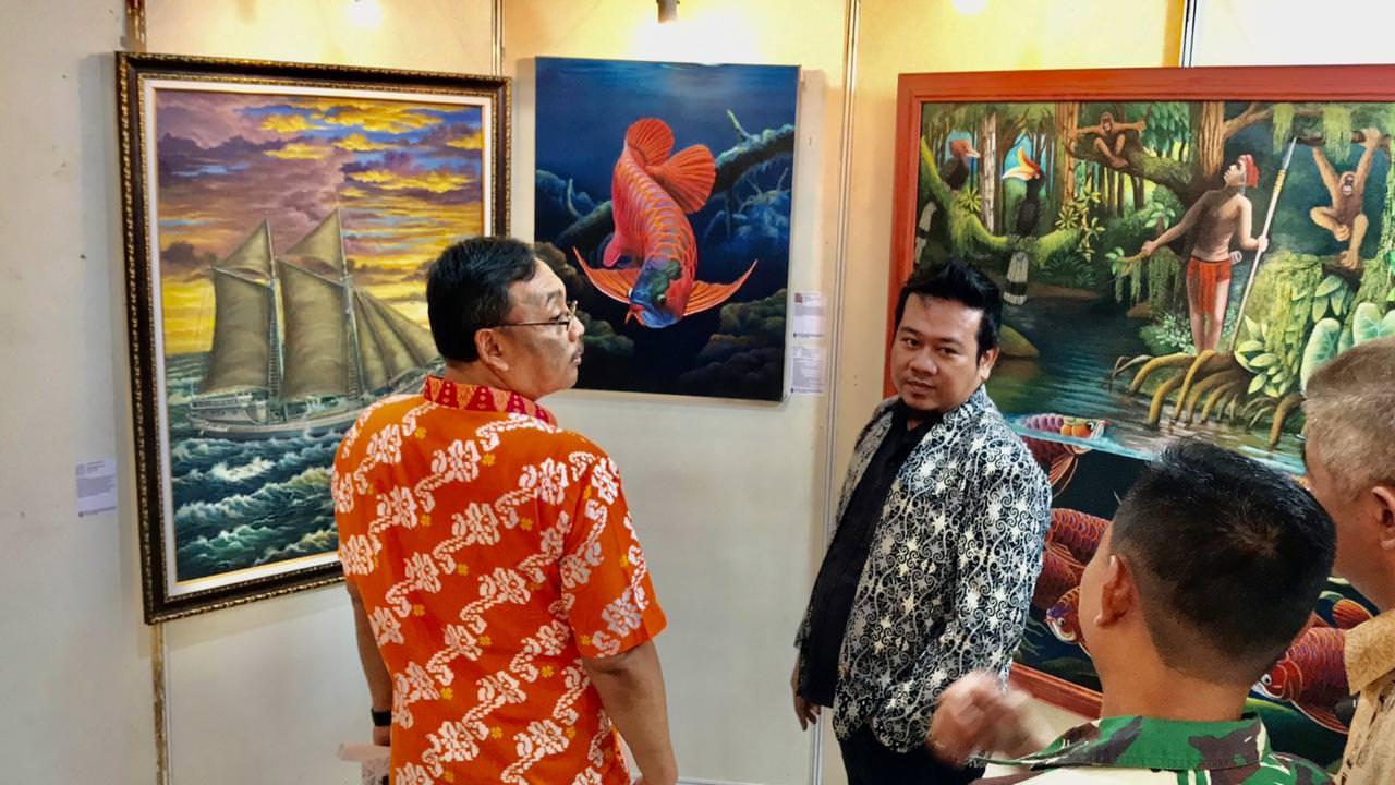 Pameran Seni Rupa 'Borneo Metamorfosa' Dibuka