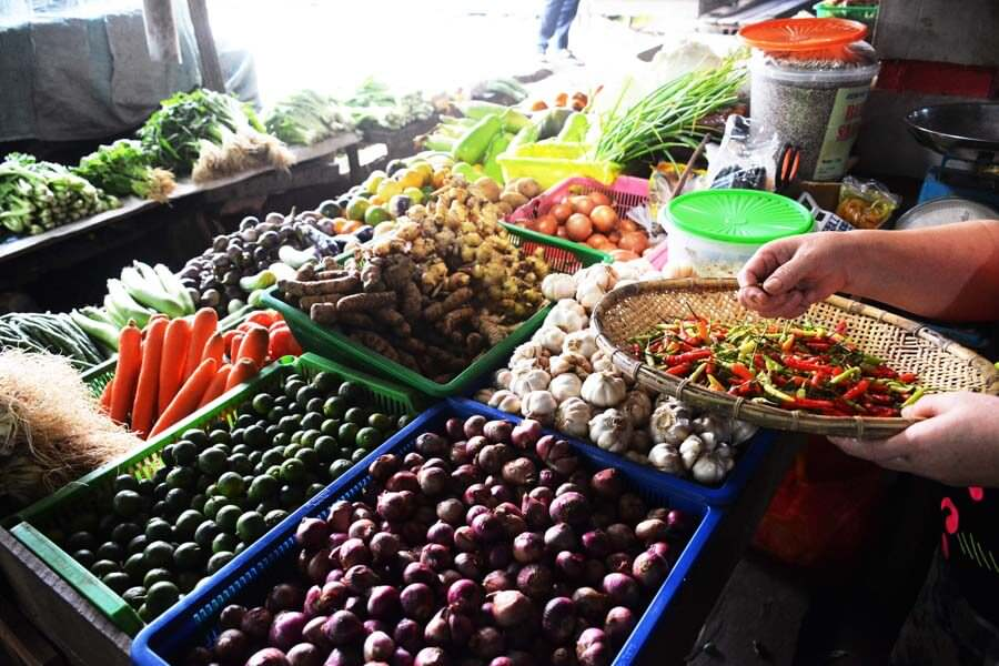 Harga Cabai di Pasar Landak Meroket , Capai Rp 11.000 Per Ons