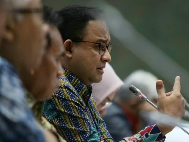 Lapor ke Wapres, Anies Sebut Ada Potensi 8 Ribu Covid-19 di Jakarta