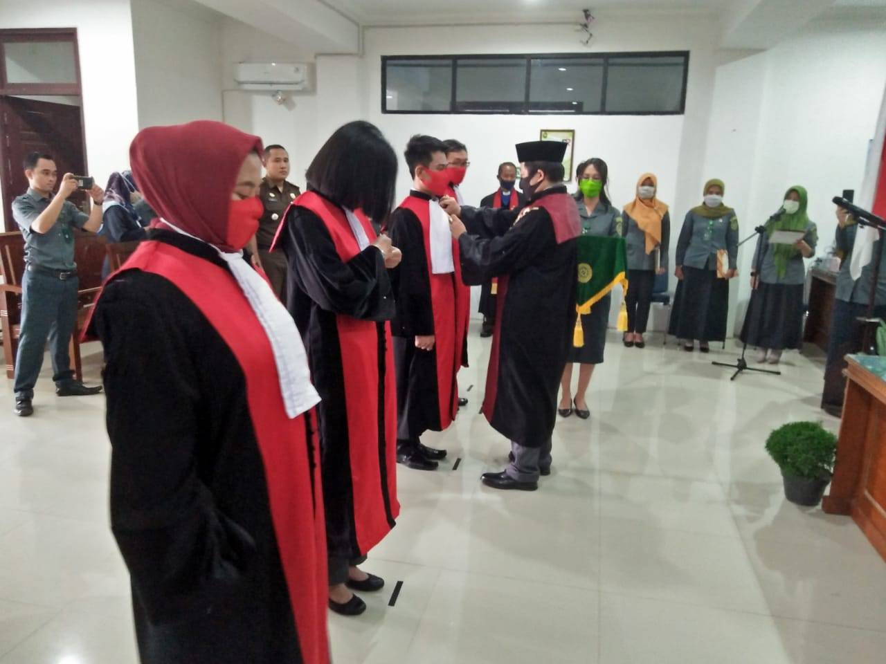 PN Putussibau Miliki 4 Hakim Baru