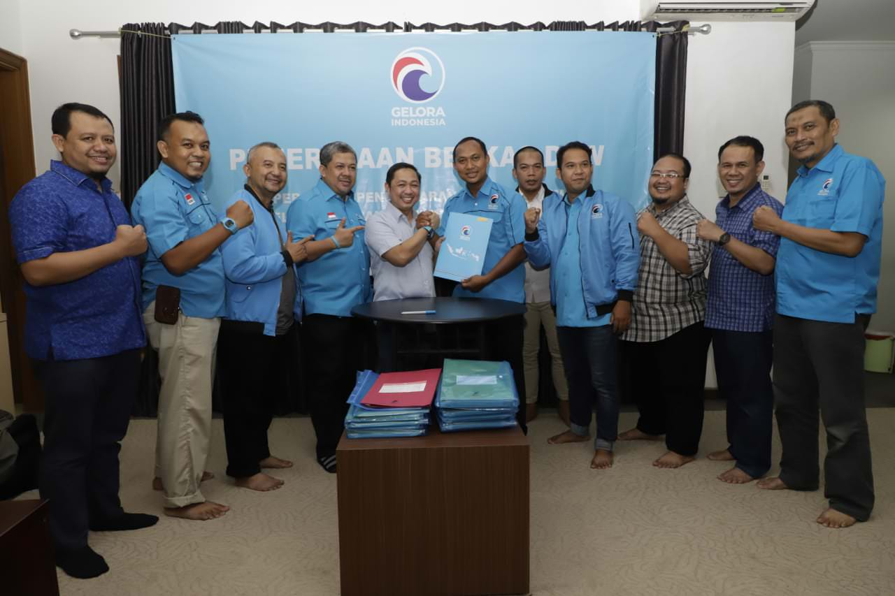 Partai Gelora Resmi Menjadi Partai Politik