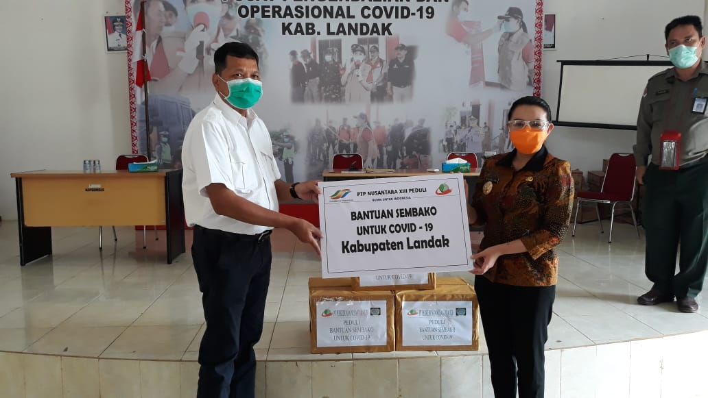 PTPN XIII Peduli, Salurkan 268 Paket Sembako